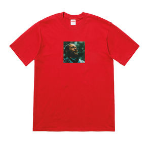 Week17!SUPREME18FW★MARVIN GAYE  Tee