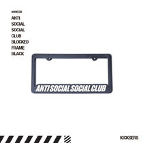 人気話題!ANTISOCIALSOCIALCLUB BLOCKED FRAME BLACK