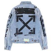 Off-White(オフホワイト) ジャケットその他 【Off-White】SLIM DENIM JKT VINTAGE WASH BK OMYE005R19386015