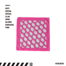 人気話題!ANTISOCIALSOCIALCLUB MIND BLOWN BANDANA PINK
