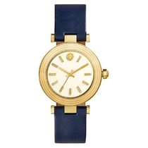 Holiday Sale品薄☆Tory Burch☆ Classic-T Leather Strap Watch