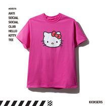人気話題!ANTISOCIALSOCIALCLUB HELLO KITTY TEE