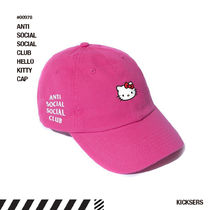 人気話題!ANTISOCIALSOCIALCLUB HELLO KITTY CAP