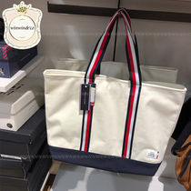 SALE【国内発送】Tommy Hilfiger◆トリコロールライントート