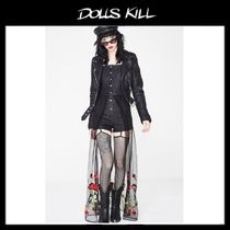 関税/送料込 *DOLLS KILL*COMIN' UP ROSES SHORTALLS DRESS