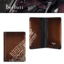 19SS新作【Berluti】Porte-Cartes Ideal En Cuir カードケース