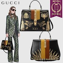 【正規品保証】GUCCI★19春夏★SYLVIE MAXI TOP HANDLE BAG