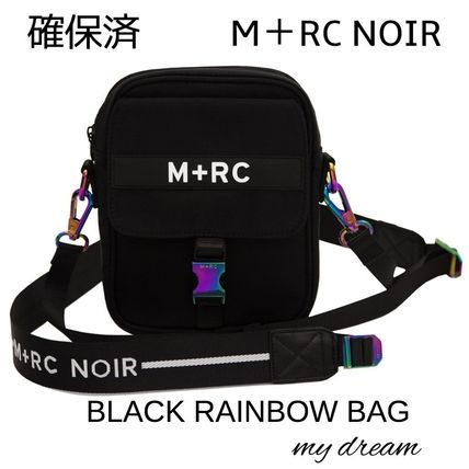 確保済 M+RC NOIR★BLACK RAINBOW BAG (BLACK)