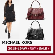 ◆MK◆Ava Extra-Small Embellished Leather Crossbody