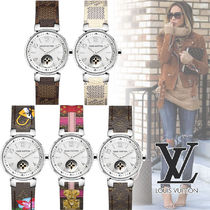 "Louis Vuitton TAMBOUR MOON STAR 28 My LV Tambour""TOILE""5色"
