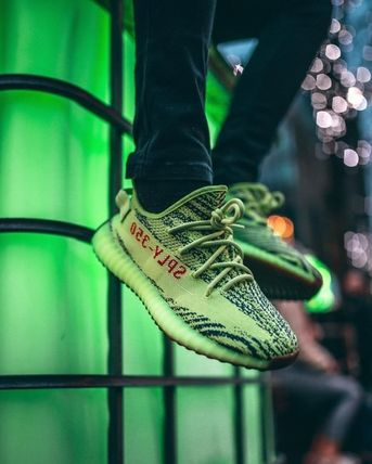adidas YEEZY BOOST 350 V2 Semi Frozen Yellow kanye west