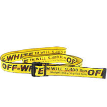【Off-White】INDUSTRIAL BELT YELLOW OMRB012R19647021