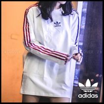 国内発送!★adidas Originals★MISMATCH LINE SLEEVE ロンTEE