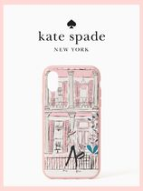 【 kate spade NY】 新作☆ピンクNola iPhone X,XS,XS MAXケース
