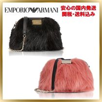 人気◆EMPORIO ARMANI◆Fur Small Shoulder Bag 【関税送料込】