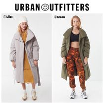 【UrbanOutfitters】☆新作☆ UO Belted Puffer Trench Coat
