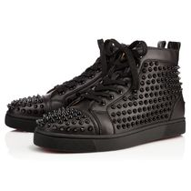 安心送料関税込! Christian Louboutin, Louis Calf Spikes