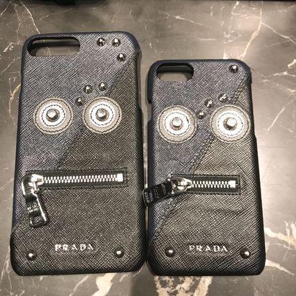 VIP SALE!正規品 & 送料込【PRADA】iPhone7/8/7PLUS/8PLUSケース