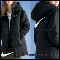 国内発送・正規品★NIKE WMNS PADDING REVERSIBLE COAT★BLACK