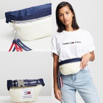 【Tommy Jeans】Logo Fleece Bumbag/ウエストバッグ