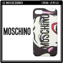 【MOSCHINO】ガールプリント iPhone 7/8 Cover 関税・送料込