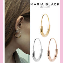 国内発送☆【MARIA BLACK】HOOP EARRING SMALL ☆送料関税込