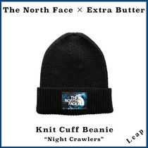 "【TNF×Extra Butter】限定 Knit Cuff Beanie ""Night Crawlers"""