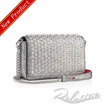★19SS★【Louboutin】Zoompouch 2WAY クラッチ/Silver