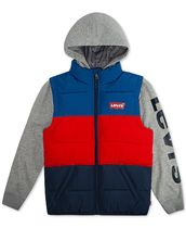 Levi's(リーバイス) キッズアウター Levi's  Colorblocked Hooded Logo Vest