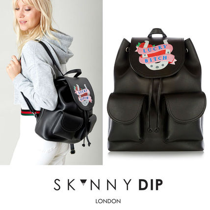 Skinnydip London Lucky Bitch Backpack バックパック