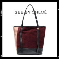 SALE【See by Chloe】カラーブロックトート A4可
