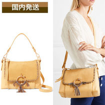 送料関税込See by Chloe Joan small suede leather shoulder bag