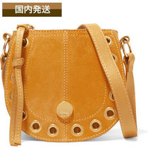 送料関税込See by Chloe☆Kriss mini eyelet suede shoulder bag