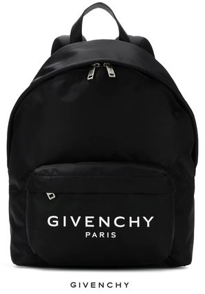 GIVENCHY ロゴ ナイロン バックパック