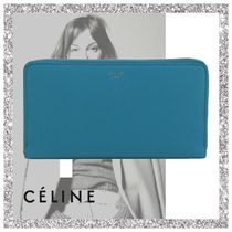 【短期着】CELINE セリーヌ Large Zipped Multifunction Wallet