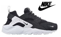 ☆大人気☆大人OK!Nike Huarache Run Black/White