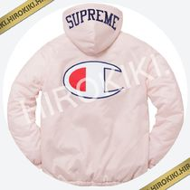 17AW /Supreme Champion Sherpa Lined Hooded Jacket Pink 桃