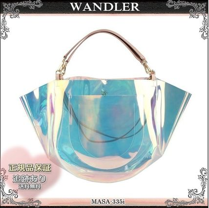 19SS☆送料込【WANDLER】 MIA 2WAY PVCトートバッグ