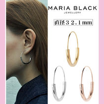 国内発送☆【MARIA BLACK】HOOP EARRING medium ☆送料関税込