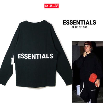 FEAR OF GOD Tシャツ・カットソー FOG(フィアオブゴッド) Essentials Boxy Graphic Long Sleeve T