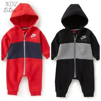 Nike★Baby Boys Newborn-12 Months Air Fleece Hooded Coverall