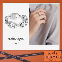[HERMES] アンシェネ Enchainee Ring☆シルバーリング