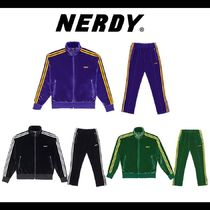 NERDY★Velvet Track Top & Pants 上下セット 全3種