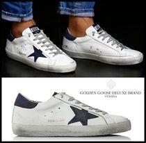 ★関税込/追跡★GOLDEN GOOSE★SUPER STAR SNEAKERS NAVY