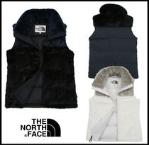 ★関税込★THE NORTH FACE★W 'S HAYWARD FUR DOWN VEST★3色