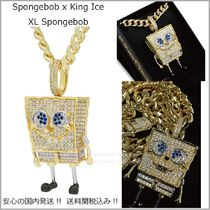 【SpongeBob x King Ice】XL Spongebob ネックレス☆送料税込み