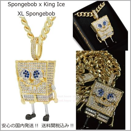 King Ice ネックレス・チョーカー 【SpongeBob x King Ice】XL Spongebob ネックレス☆送料税込み