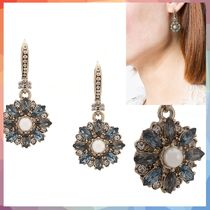 ピアス embellished flower earrings