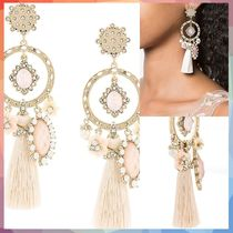 ピアス hoop and tassel earrings