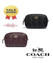 ☆Coach(コーチ) Convertible belt bag with quilting 2色展開★